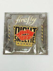 Firefly Loot Cargo Crate Exclusive SAFFRON Night Sweetie Pin QmX Metalworks