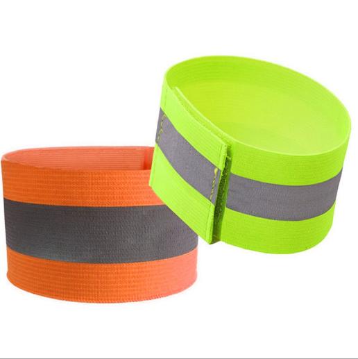 Outdoor Sports Night Running Bike Safety Reflective Arm Band Belt Strap