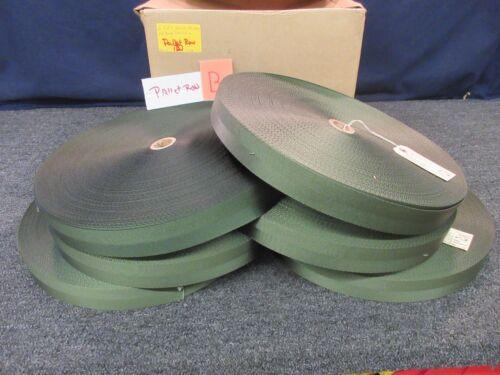 "600 yards Nylon Strap Webbing Belt 1-3//4/"" Green strapping Tie-Down Sling Hoist"