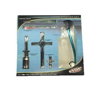 HSP 80142 Nitro GAS Starter Tools Kit for 1:10 Baja's Ignition Starter Set for RC Car Part
