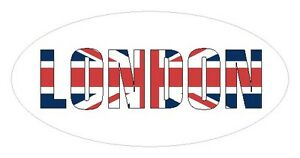 Union Jack Flag Oval Seal Labels Envelopes Bags Stickers for Gift Wrap Cards