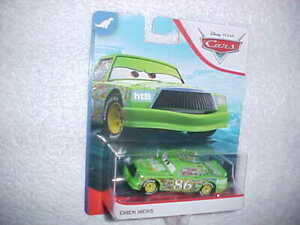 HW-DISNEY-PIXAR-CARS-034-CHICK-HICKS-034-VHTF-NEW-MATTEL-DIE-CAST-CAR