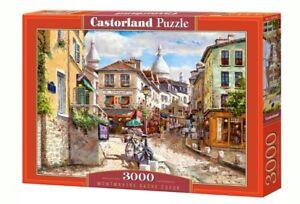 NEW CASTORLAND Puzzle 3000 Tiles Pieces Jigsaw Montmartre Sacre Coeur, Sam Park