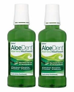 aloedent-naturel-bain-de-bouche-2X250ml-ALOE-VERA-amp-Arbre-the-pour-protection