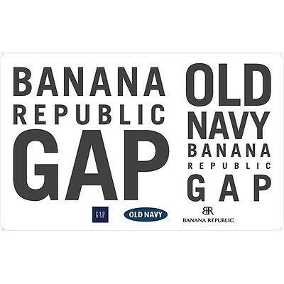 GAP Options Gift Card- $25 Mail Delivery