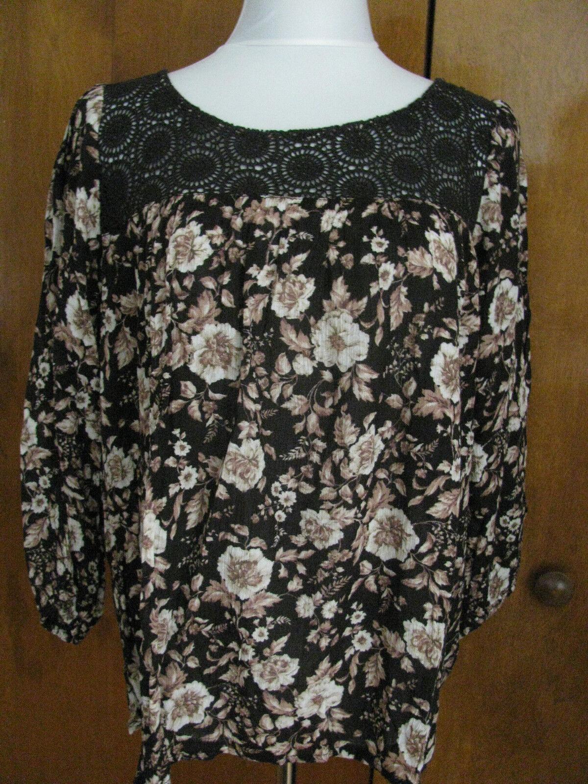 Ralph Lauren Denim & Supply damen fabric crafted colGoldt cotton top XS M L