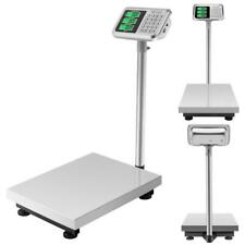 660lbs 300kg Weight Computing Floor Platform Scale Postal Shipping Us Charger