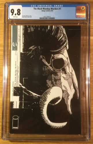 CGC 9.8 graded NM//MT The Black Monday Murders 1