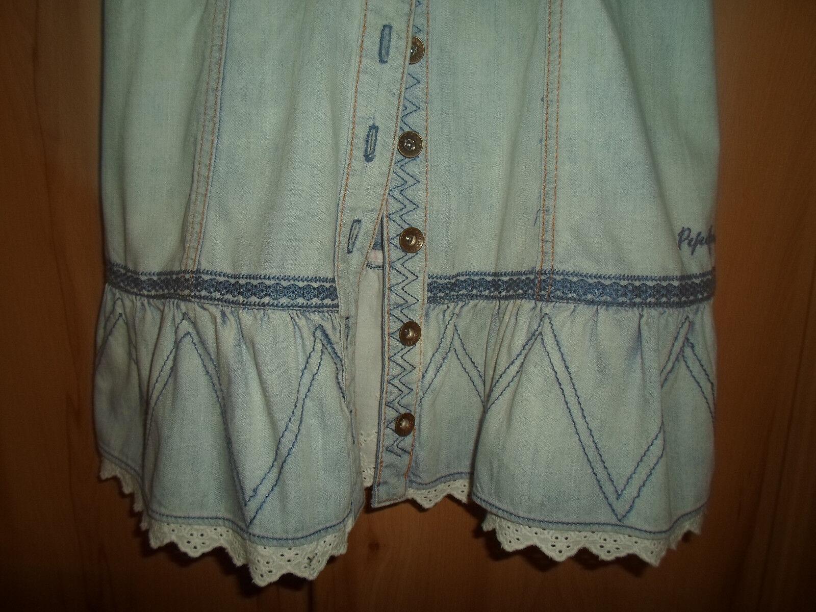 Jeanskleid Jeanskleid Jeanskleid von Pepe Jeans Gr. 34 Blau 8ed826