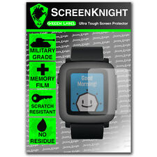 Screenknight Pebble tempo SMART WATCH Front Screen Protector INVISIBLE SHIELD