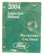 OEM 2004 Ford Car & Truck Engine/Emissions Facts Book Summary P/N AD-544