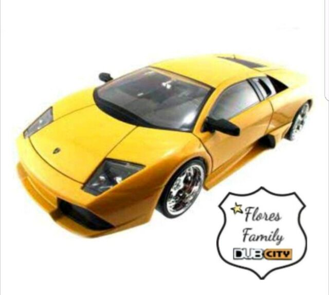 2008 DUB Bigtime Kustoms Lamborghini Murcielago LP640 1:24 die cast Jada ☆Yellow