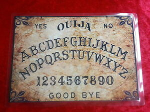 Ouija-Board-laminated-sheet-fortune-telling-Witch-Ghost-Seance-Magic-Old-World