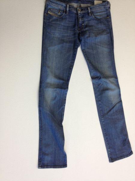 Diesel Lhela Jeans Hose blue Stonewashed  W29 L34