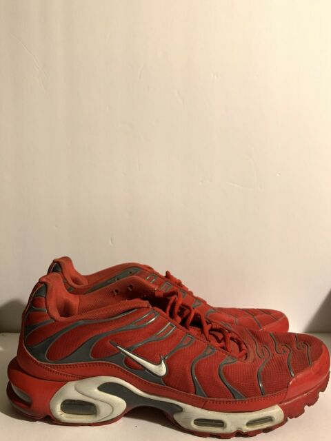 Size 13 - Nike Air Max Plus Red Pure Platinum for sale online   eBay