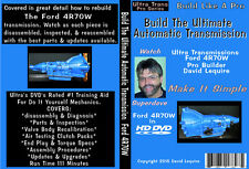 Ford F-150 & Ford Mustang AODE / 4R70W  Automatic Transmission  Video DVD