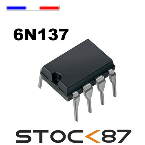 1622# 1 à 10 pcs Optocoupleur 6N137 DIP8 Optokoppler