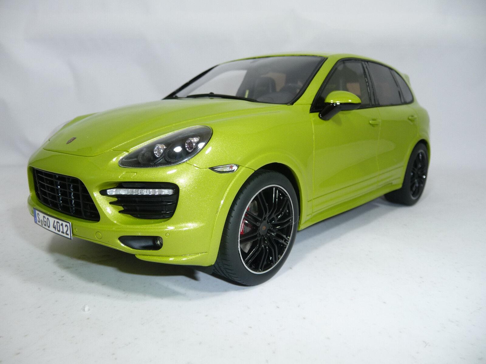 Porsche Cayenne GTS Light vert 1 18 GT-SPIRIT gt020a very rare lim.1500pcs