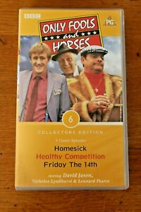 VHS-Tape-Only-Fools-amp-Horses-Homesick-Classic-Episodes-PAL-Collectors-Edition-6