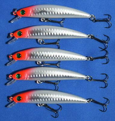 5 RENEGADE LASER MINNOW  STYLE LURES