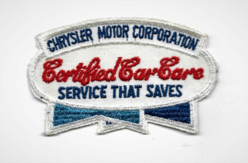 Vintage 60s-70s CHRYSLER MOTOR CORP Gearhead Hot Rod Rockabilly Collectors Patch