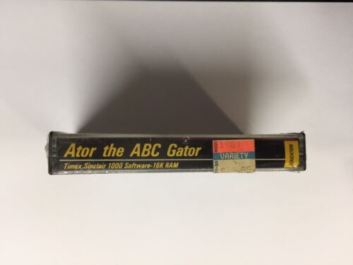 Ator the ABC Gator game for Sinclair ZX81 Timex 1000 /& 1500 computers RARE NEW