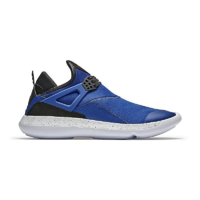 669917882a Nike Air Jordan Fly 89 IV 4 Blue Black Men Lifestyle Shoes SNEAKERS ...