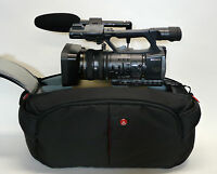 Pro Mf3 Ag Camcorder Bag For Panasonic Ag-dvx200 Dvx200 4k Hpx255 Ac130a Ac90a