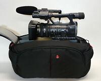 Pro Mf3 Ag Camcorder Bag For Panasonic Ag-dvx200 Dvx200 4k Hpx255 Ac130a Ac90a