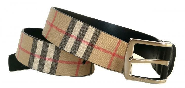 Burberry Vintage Check Mens Belt 8025675