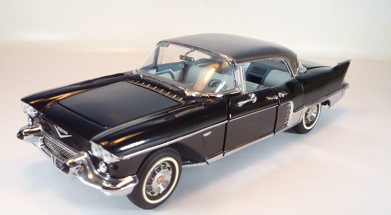 Franklin Mint 1 24 Cadillac Eldorado Brougham 1957 schwarz in StyroporBox  2221