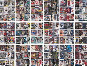 NHL-Hockey-Player-Lots-Choose-From-List-See-Scans-Inserts-RCs-Parallels-LOOK