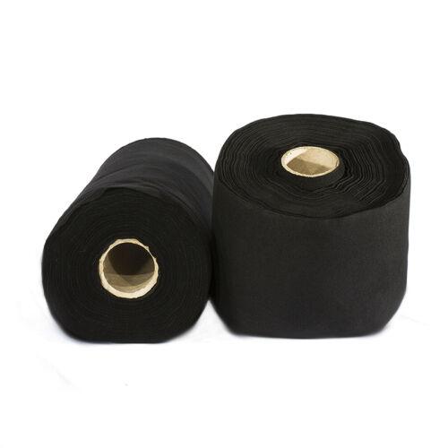 60m B1 Dekomolton Podestverkleidung 60cm breit schwarz schwer entflammbar  NEU