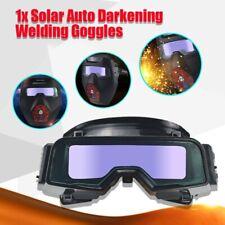 Solar Auto Darkening Welding Goggle Helmet Tig Mig Welder Eye Protection Glasses