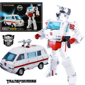 Transformers toy Masterpiece MP-30 Ratchet Nissan Cherry Vanette Figure