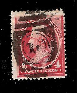 US  1888 SC# 215  4 CENT ANDREW JACKSON USED - Fancy Cancel