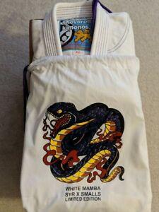 Shoyoroll White Mamba Batch 8 A2 NEW Kimono Gi