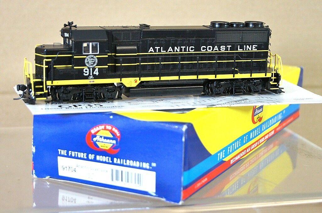 ATHEARN 91704 DCC READY ATLANTIC COAST LINE classe GP-35 LOCO 914 MINT scatolaED na