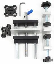 """Miter & Edge Doweling Jig Drill Guide Wood Dowel 1/4, 5/16, 3/8, 7/16, 1/2"""" size"""