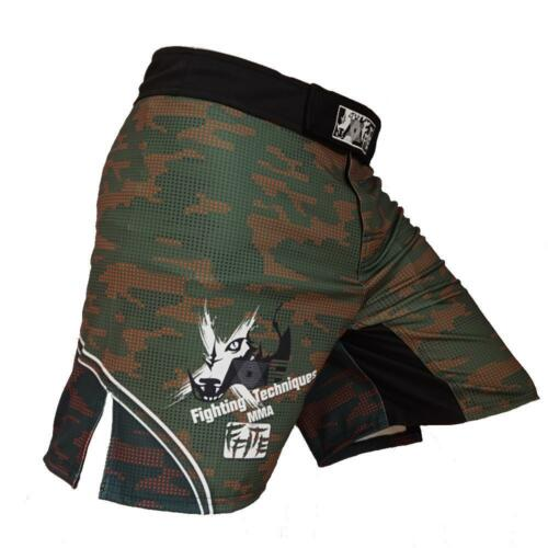 Mma Trunks Ufc Cage Kick Fight Grappling Sports Boxing Shorts Muay Thai Rdx Gym