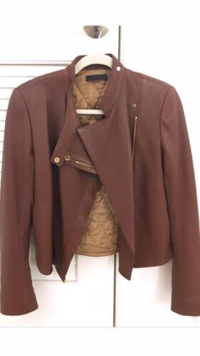 The Row Brown Deer Skin Leather Jacket