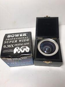 Bower Advance Vision Professional Super Wide 0.3X Mcro Lens