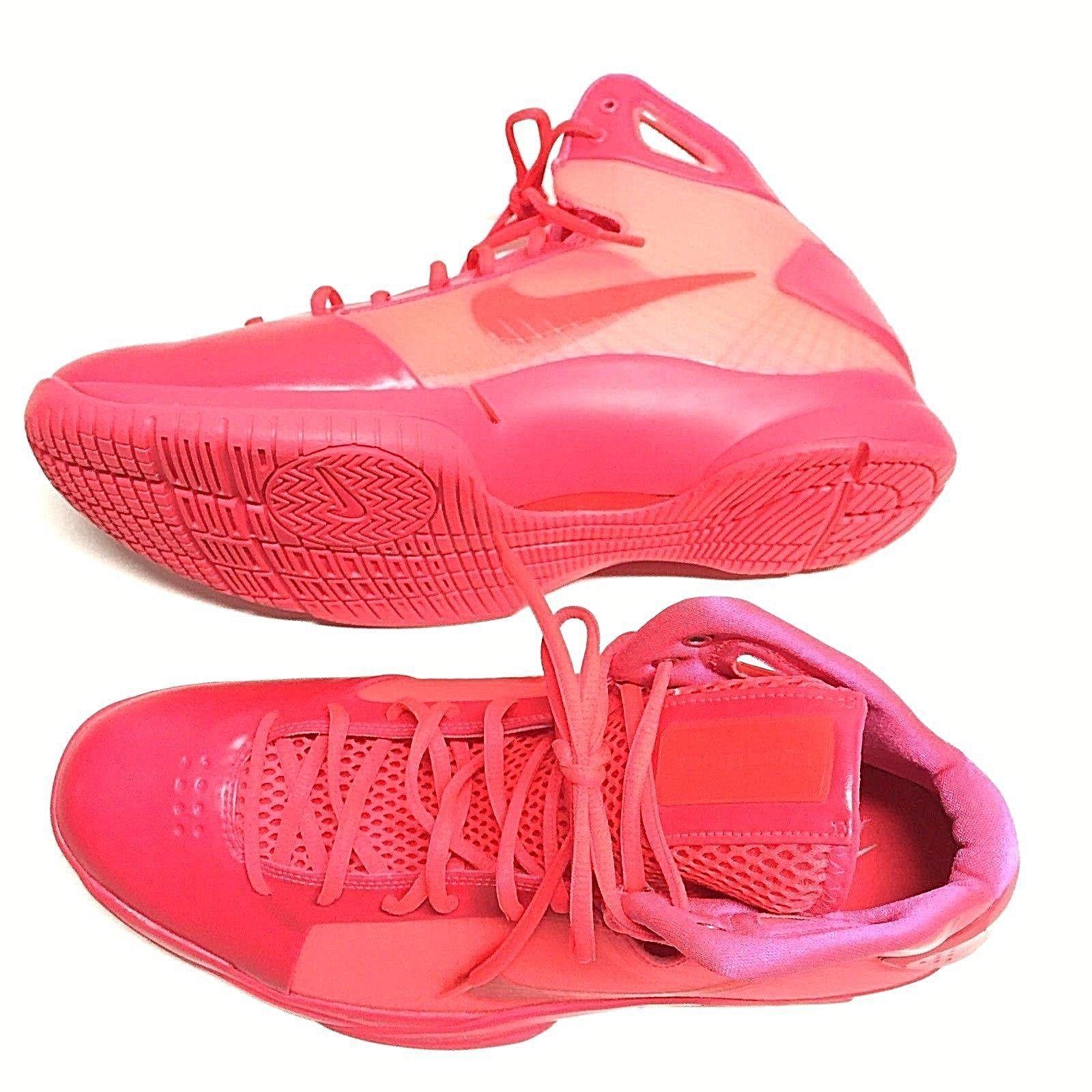 Nike Men Hyperdunk 08 Retro basketball 2016 Sz 13 solar red 820321-600