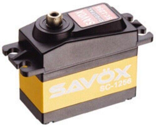 Savox SC-1256TG High-Torque Titanium-Gear 12-Bit Digital Servo 277-oz .15-Sec