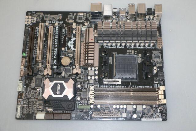 Asus SABERTOOTH 990FX R2.0 Motherboard AM3 ATX + PCIex16 8+2 Military-Grade VRM