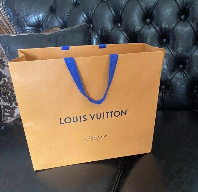 Louis Vuitton Designer Paper Shopping Bag For Sale Online Ebay