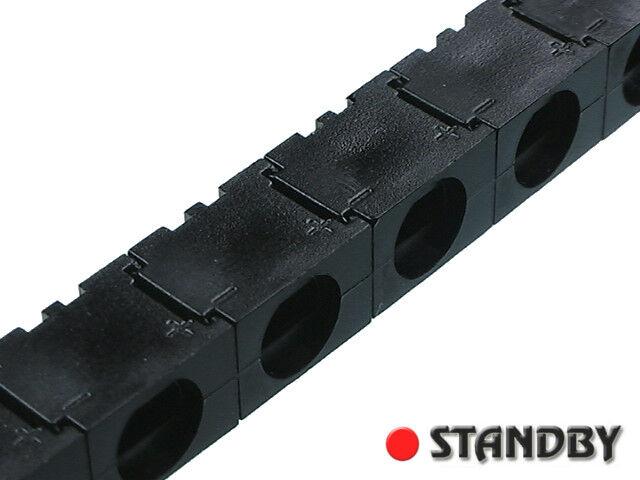 100pcs Enstackable clips for 5 mm LED  (black), Q62902B0153F222 SIEMENS