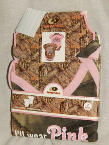 Mossy Oak Camo 2pcs Bodysuit set Outfit Hunting Shirt Baby NEW Infant Sizes