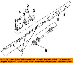image is loading ford-oem-84-91-f-350-steering-column-