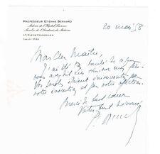 LE PROFESSEUR ETIENNE BERNARD PIONNIER DE LA VACCINATION PAR LE BCG